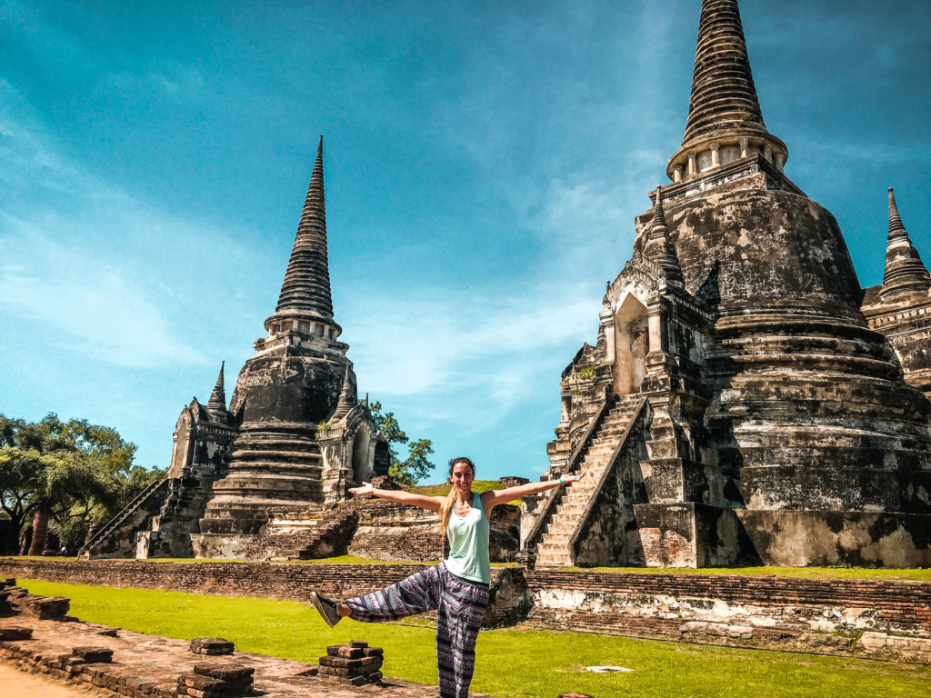 Templo Wat Phra Si Sanphet, Ayutthaya