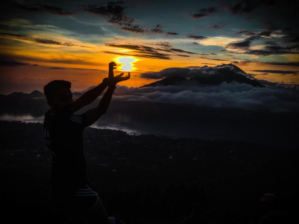 Amanecer volcán Monte Batur