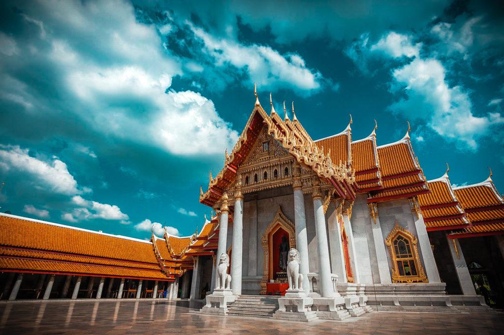 Templo de mármol Wat Benchamabophit, Tailandia