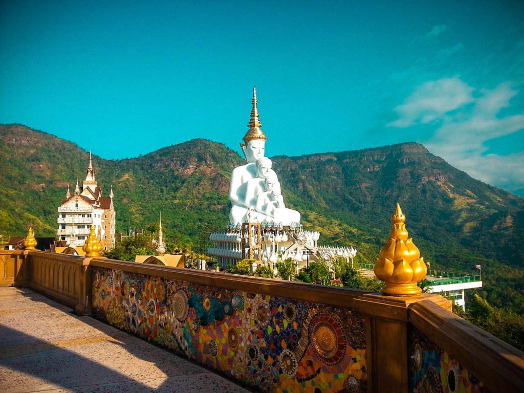 Templo Wat Pha Sorn Kaew, Tailandia