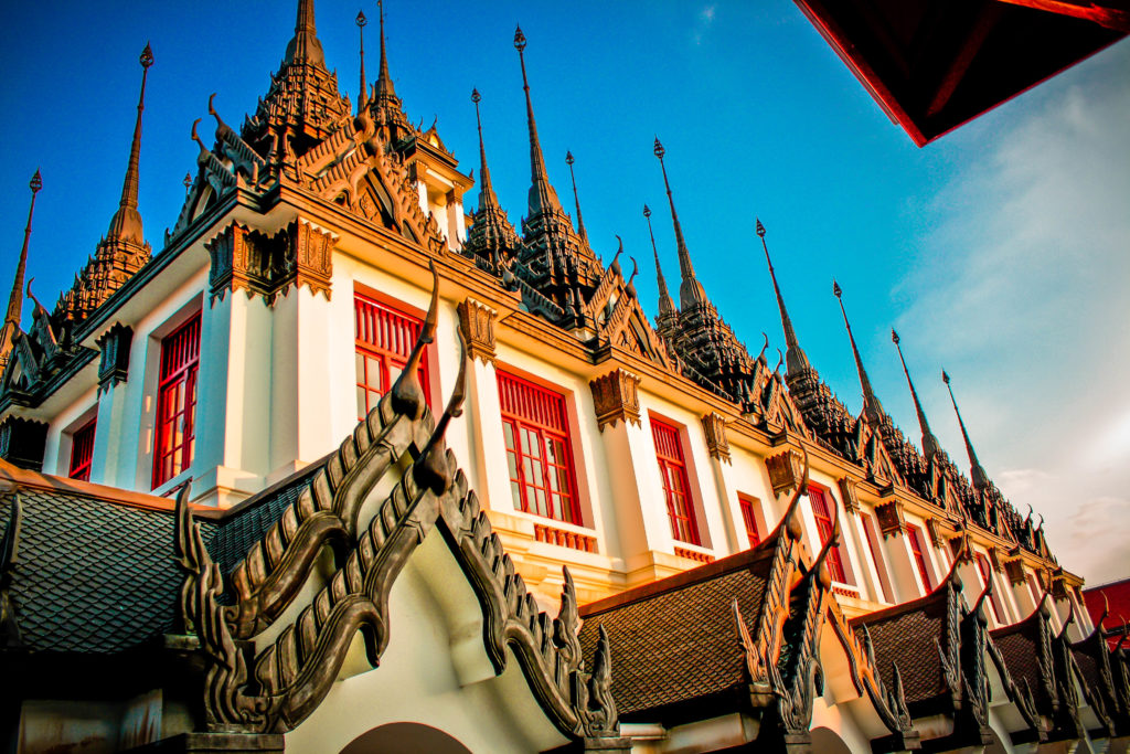 Templo Wat Ratchanatdaram, Tailandia