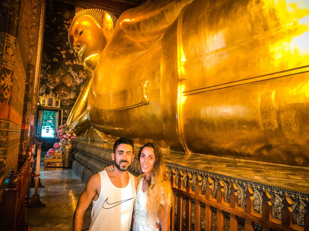 Templo del Buda reclinado, Tailandia
