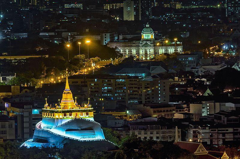 Wat Saket, uno de los mejores templos para visitar en Bangkok