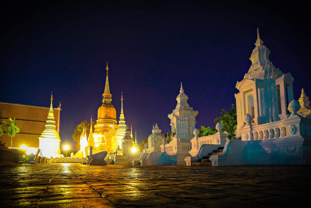 Wat Suan Dok, mejores templos para visitar en Chiang Mai