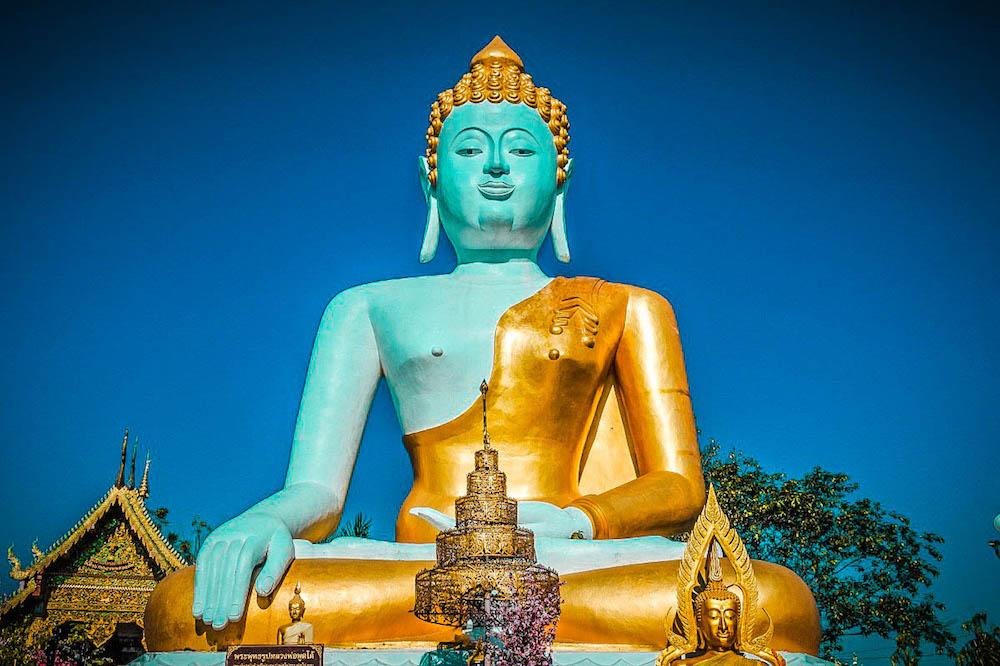 Wat Phra That Doi Kham, mejores templos para visitar en Chiang Mai
