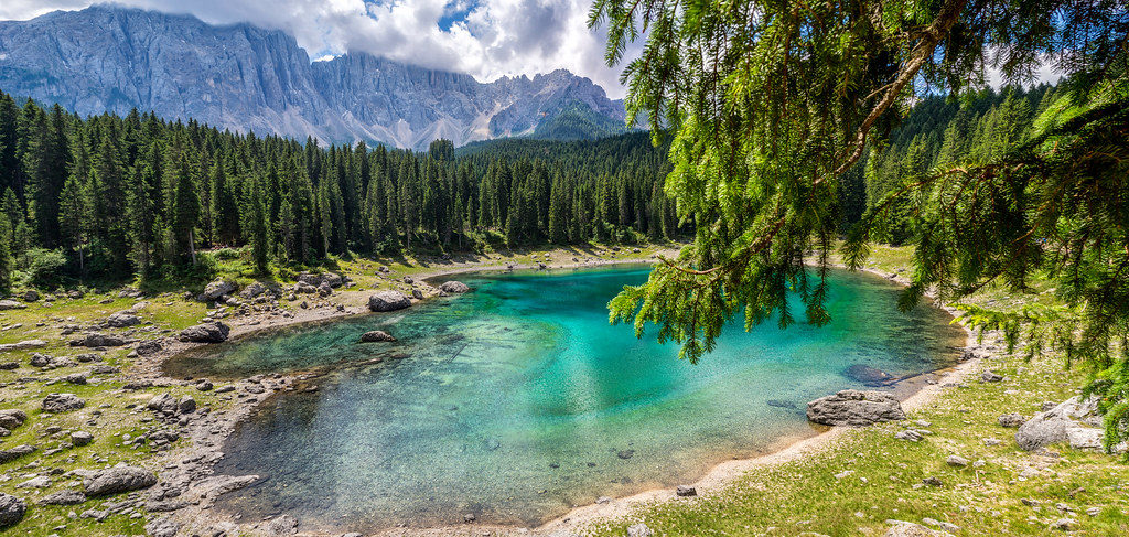 Lago di Carezza o Karersee