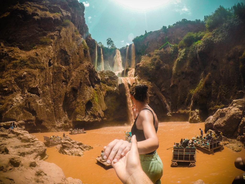 Excursión a las cascadas Ouzoud.