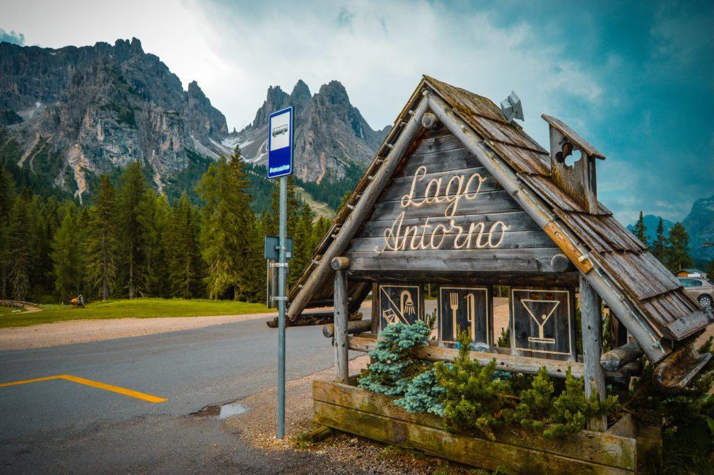 Lago Antorno, Dolomitas