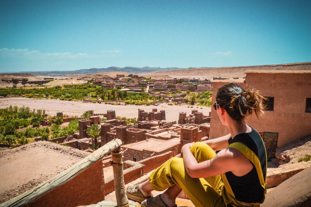 Vistas desde el Ait Ben Haddou, Marrakech