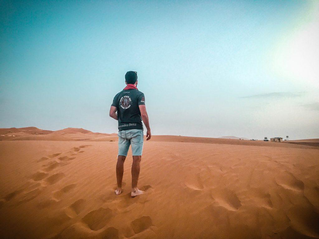 Amanecer desierto de Merzouga, Marrakech