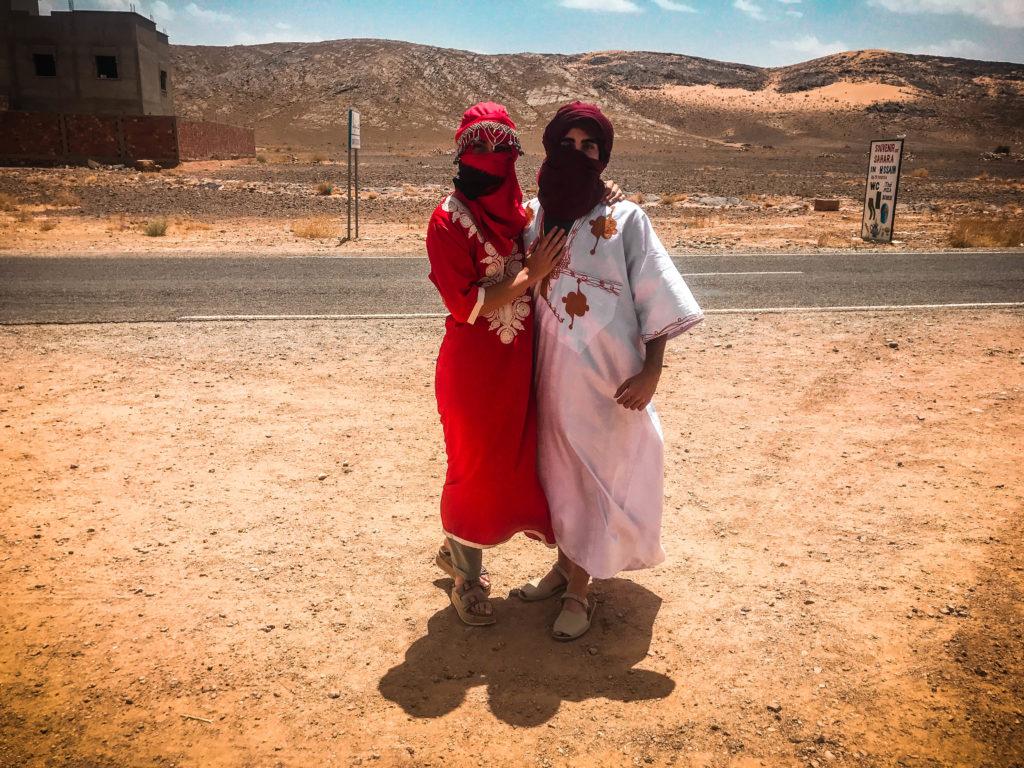 Ropa Bereber, Marrakech