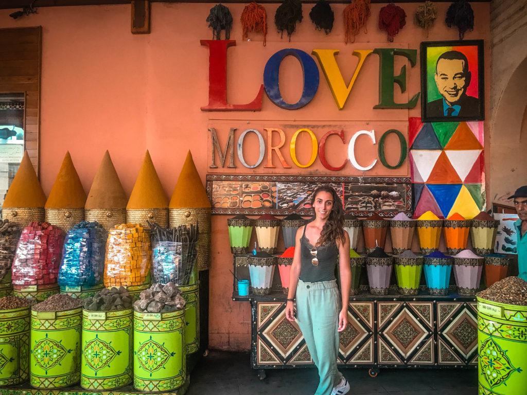 Mercado de las especias del Mellah, Marrakech