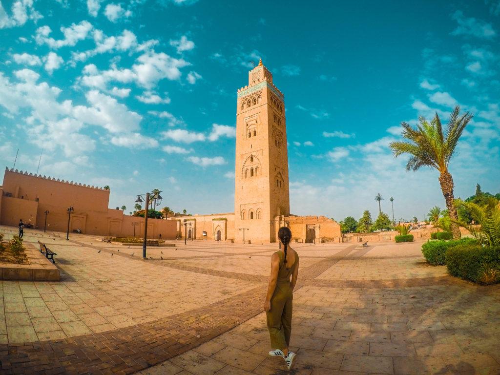Mezquita Koutoubia, Marrakech