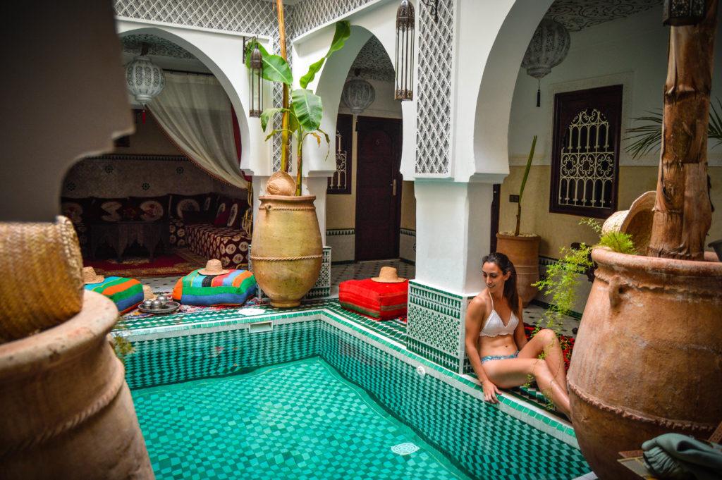 Piscina Riad, Marrakech